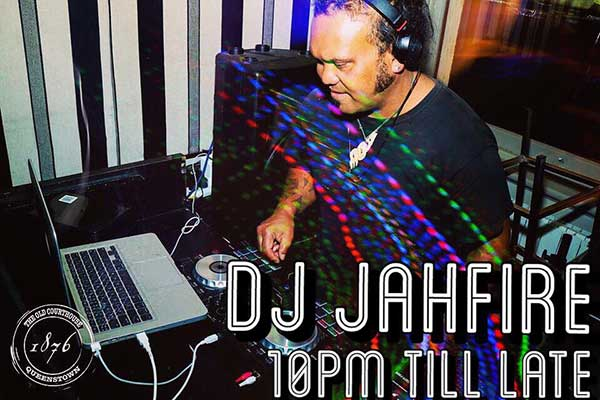 13 Dec – DJ Jahfire at 10pm